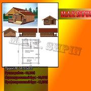строительство деревянных домов,  коттеджей,  бань,  ресторанов,  кафе,
