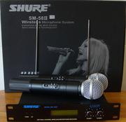 Радиосистема Shure SM 58  2 радиомикрофона SM-58 700грн