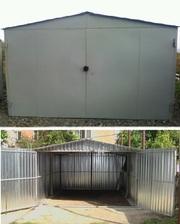 металлический гараж мборно-разборной