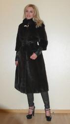 Шикарная модная норковая шуба из новой коллекции 2014,  размер 40 42 44