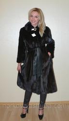 Шикарная модная норковая шуба из новой коллекции 2014,  размер 42 44,  X
