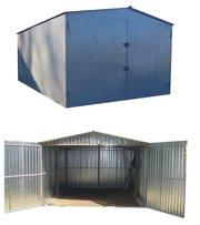 металевий гараж різних розмірів  швидкозбірні