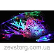 Гирлянда светодиодная оптоволоконная — Цветная,  9.5.м