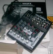 Продам микшерный пульт Behringer Xenyx 1002FX