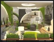Дизайн інтер'єру,  дизайн интерьера,  GREENLINE design studio