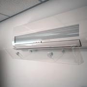 Дефлектор DS-700. Защита от холодного потока воздуха кондиционеров.