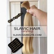 Славянские волосы купить Парики Трессы Хвосты Натуральные волосы