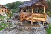 Ландшафтный дизайн. Изготовление водопадов